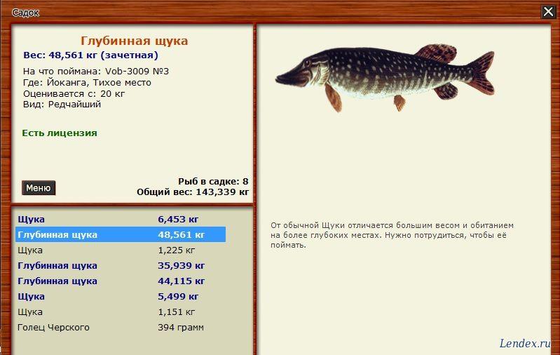 Русская рыбалка 3 клуб спиннингистов